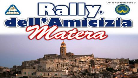 Rally Amicizia 2017: Matera vi attende con gioia